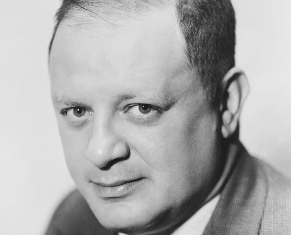 Herman J. Mankiewicz, l'un des plus grands scénaristes de son temps. © Archives