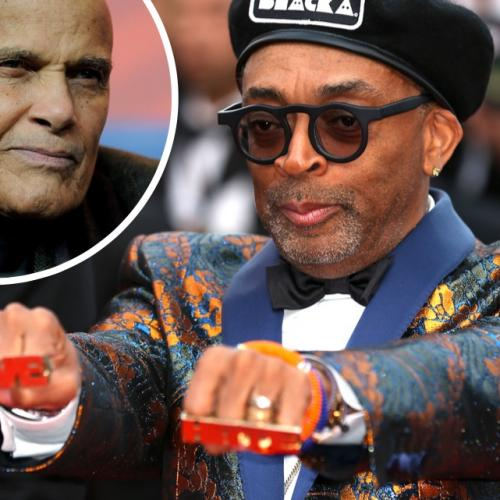 Spike Lee, avec Harry Belafonte contre le KKK