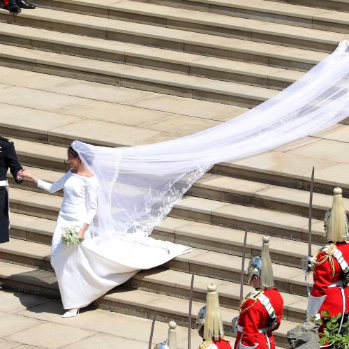 Meghan Markle : l'adorable secret de sa robe de mariée