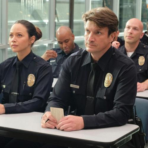 "Nathan Fillion est ""The Rookie"""