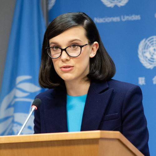 Millie Bobby Brown, plus jeune ambassadrice de l'Unicef