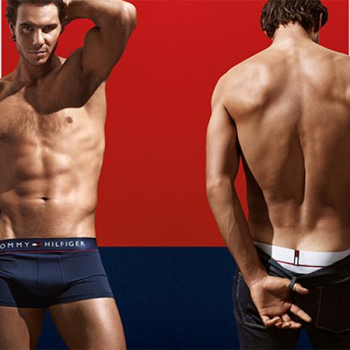 Rafael Nadal, sexy pour Tommy