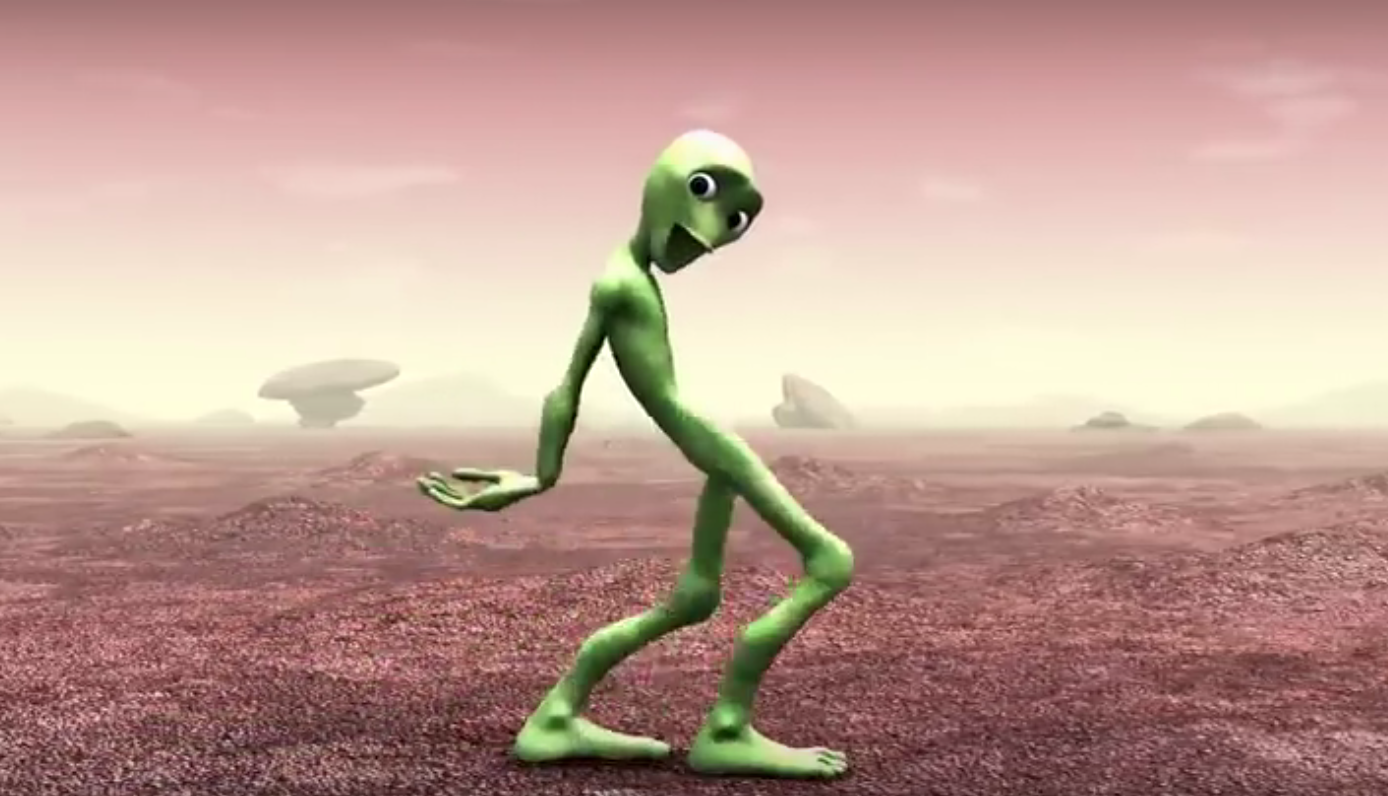 extraterrestre danse traduction