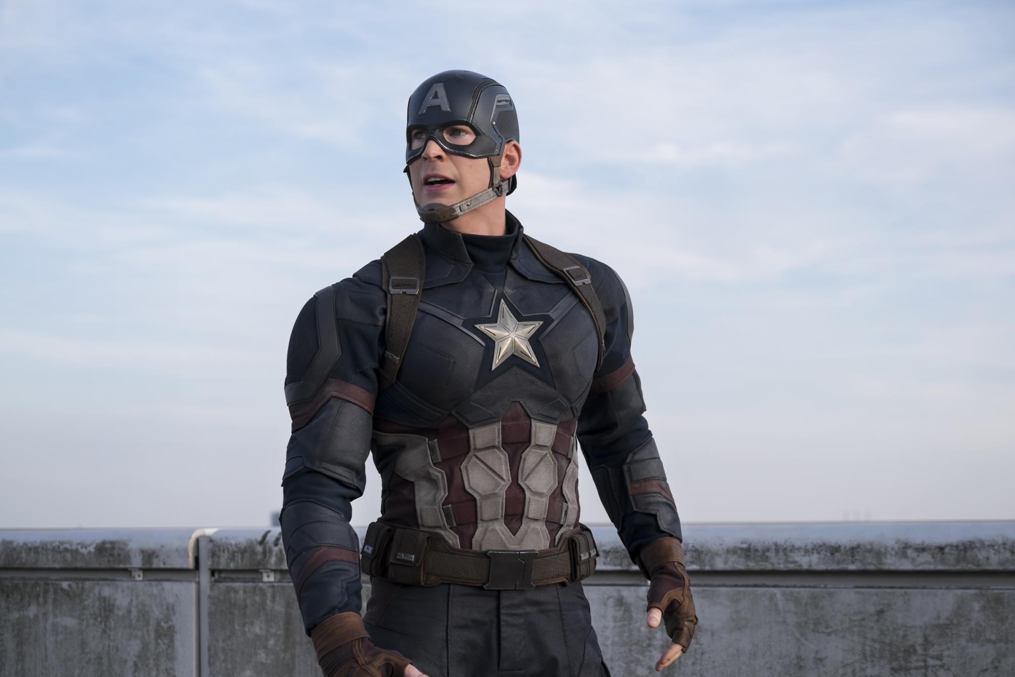 Chris Evans a confirmé qu'il n'endosserait plus le costume de Captain America. © Archives