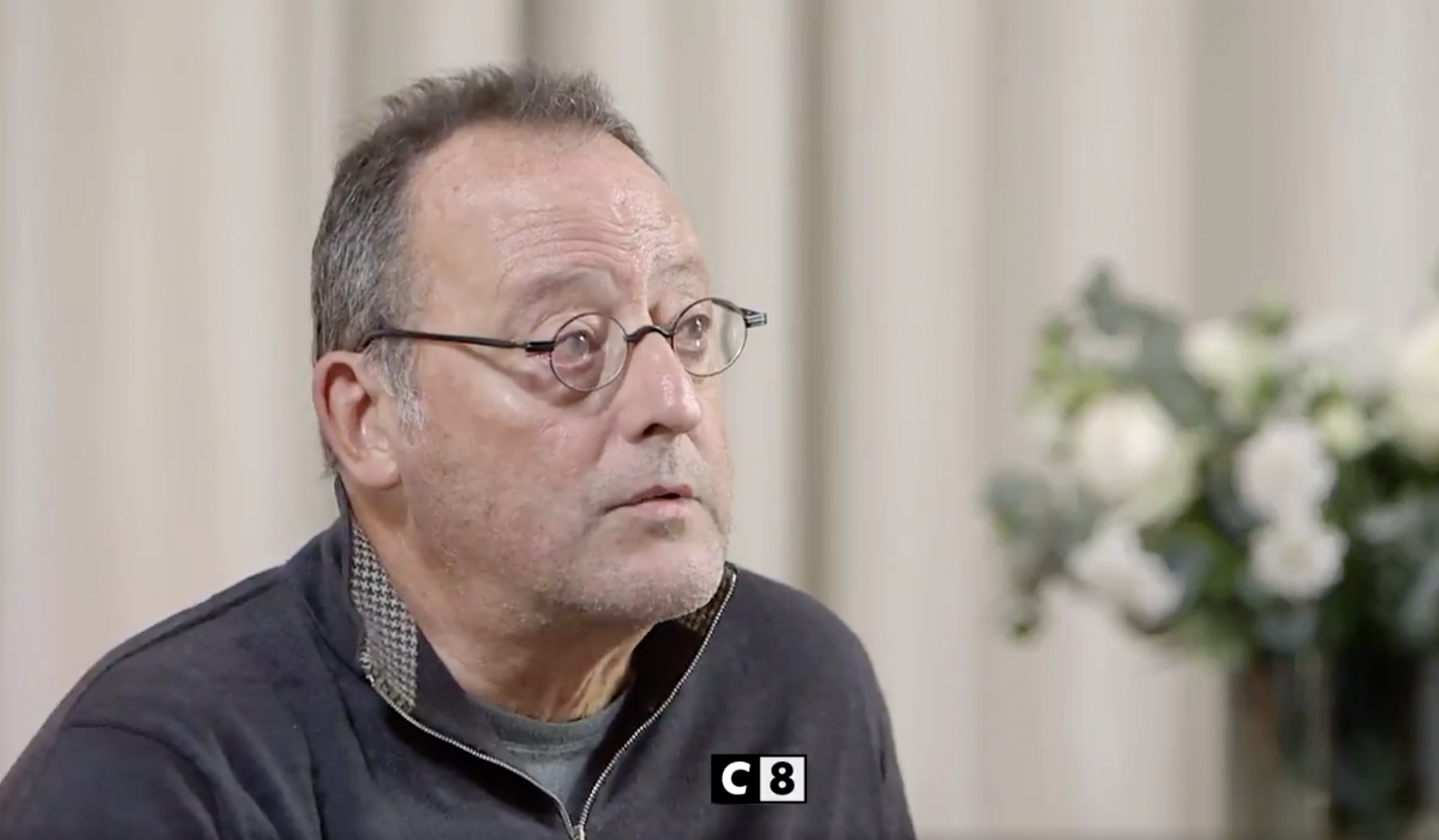 The tears of Jean Reno, who speaks for the first time.