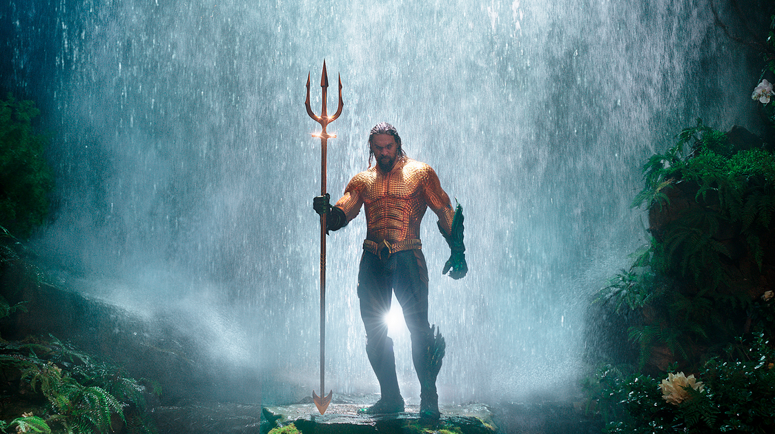 """Aquaman"", le digne héritier de Poséidon, version DC Comics © Warner Bros"