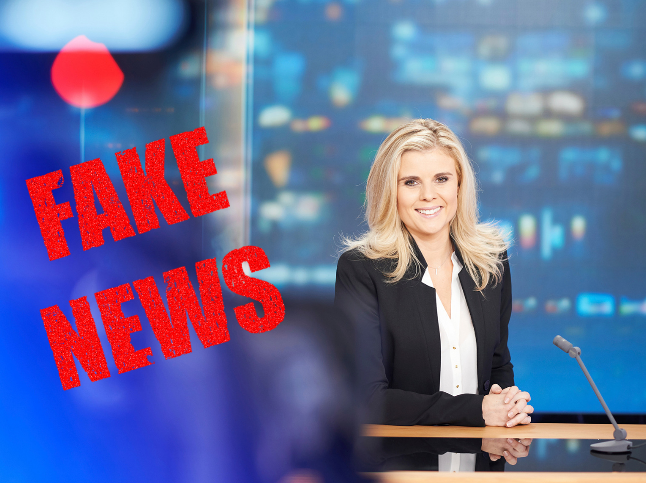 Fake news : les J.T. contre-attaquent ! © Limet/RTL