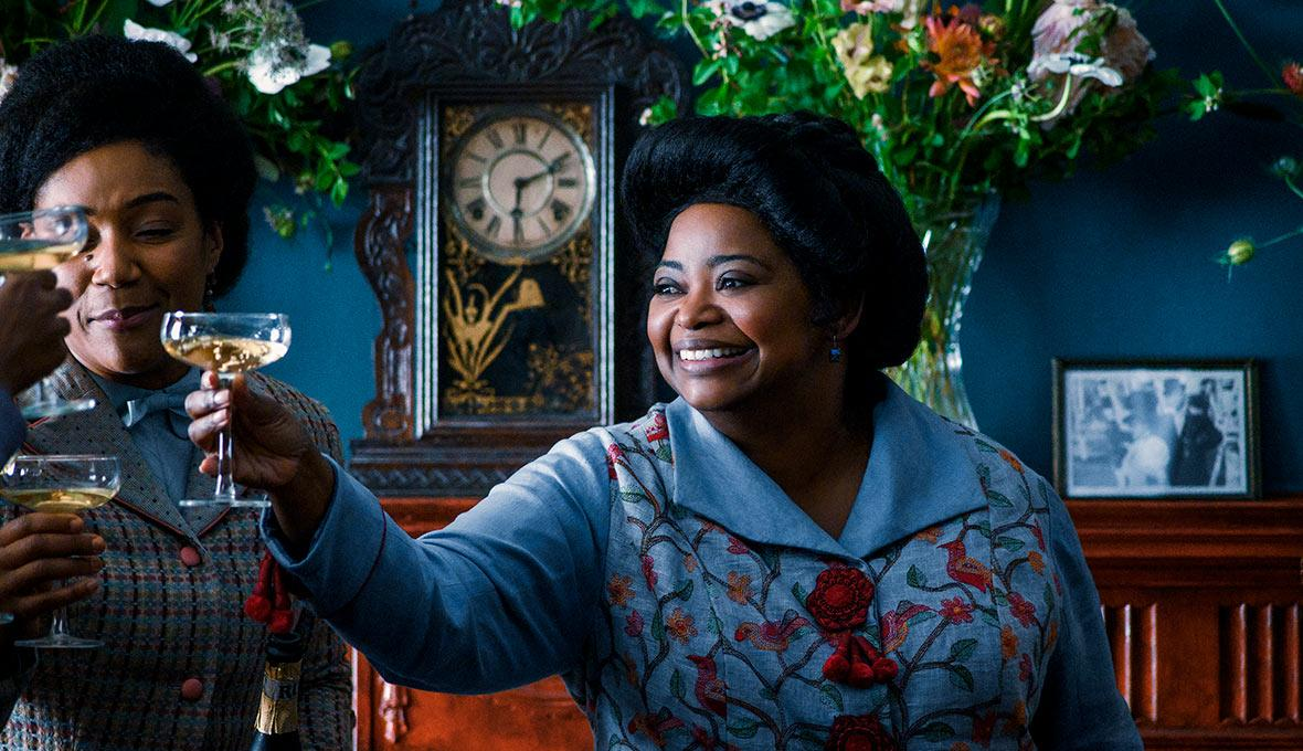 "La success story de Madam C.R. Walker, c'est à découvrir via ""Self made"" ! © Netflix"