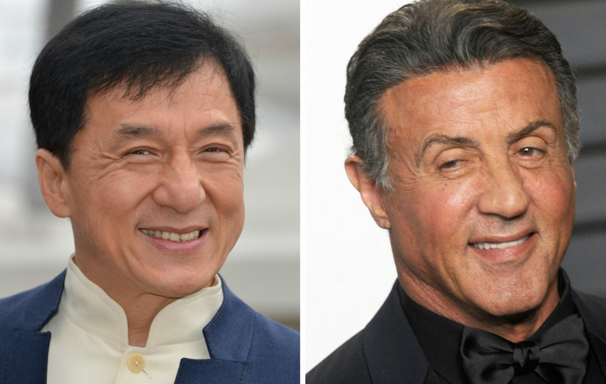 Tournage à risque pour Stallone et Jackie Chan © Reporters