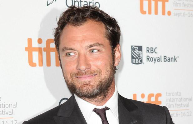 "Jude Law au pays de ""Harry Potter"" © Reporters"